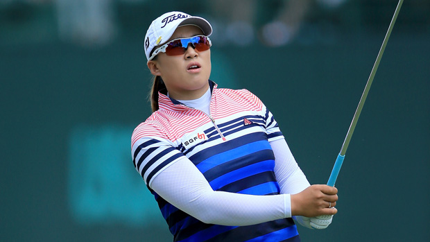 Amy Yang during the third round of the U.S. Women's Open