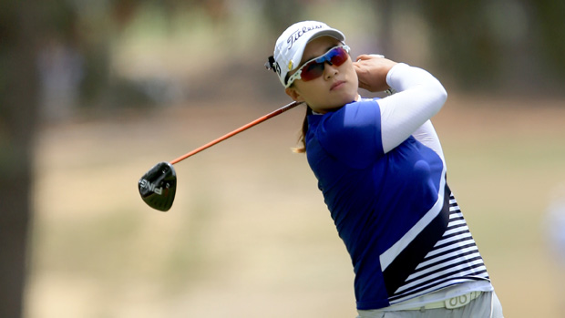 Amy Yang during the final round of the U.S. Women's Open