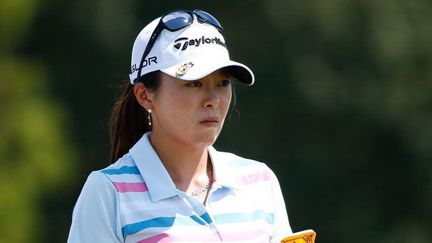 MJ Hur during the first round of the 2014 Yokohama Tire LPGA Classic