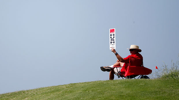 A Volunteer during the second round of the 2014 Yokohama Tire LPGA Classic