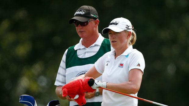 Stacy Lewis during the third round of the 2014 Yokohama Tire LPGA Classic