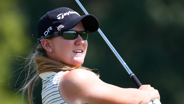 Austin Ernst during the second round of the 2014 Yokohama Tire LPGA Classic