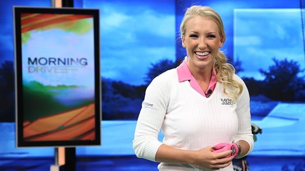 Brooke Pancake pays a visit to Morning Drive | LPGA | Ladies