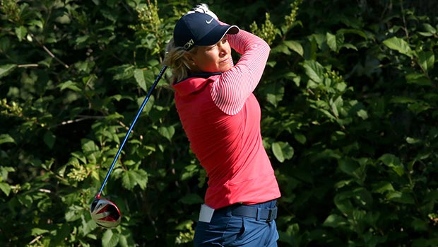 Suzann Pettersen during the second round of the 2013 CN Canadian Women's Open