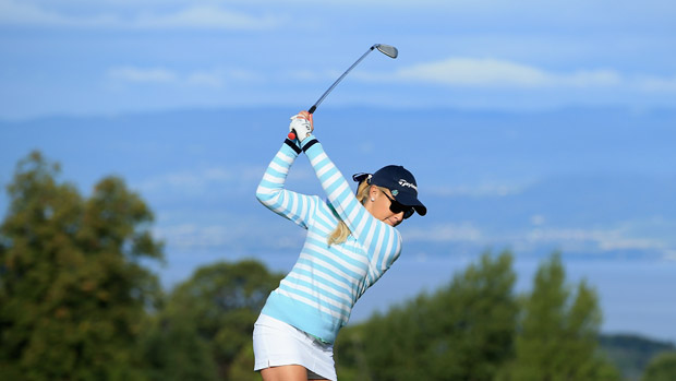 Natalie Gulbis during The Evian Championship