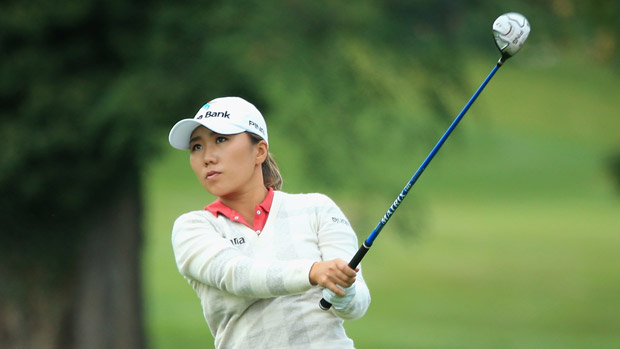 I.K. Kim during The Evian Championship