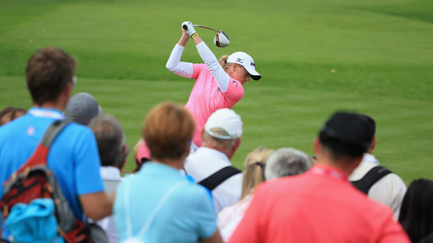 Stacy Lewis during The Evian Championship