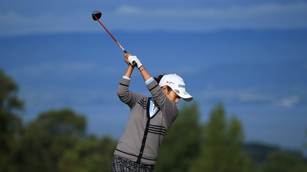 Ai Miyazato during The Evian Championship