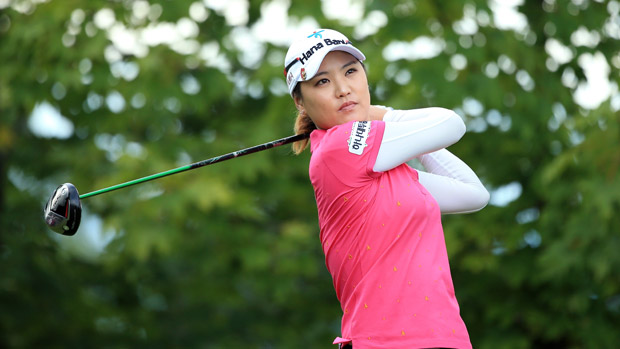 So Yeon Ryu during The Evian Championship