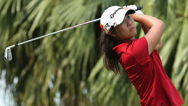 Danielle Kang during the second round of the HSBC Women's Champions 2013