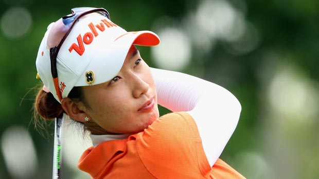 Chella Choi during the third round of the HSBC Women's Champions 2013