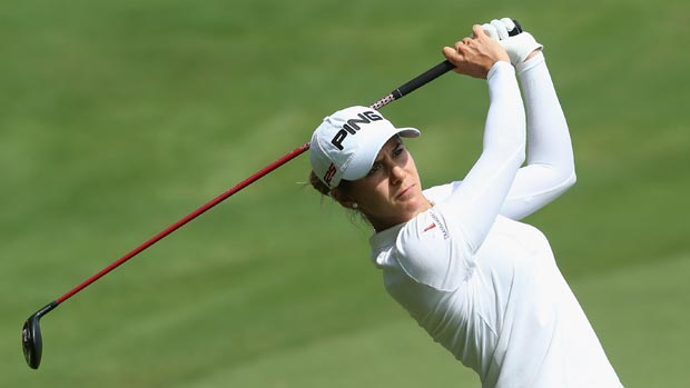Azahara Munoz during the third round of the HSBC Women's Champions 2013