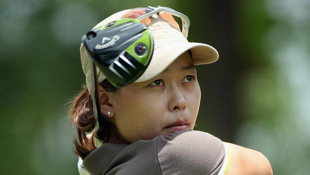 Sun Young Yoo during the third round of the HSBC Women's Champions 2013