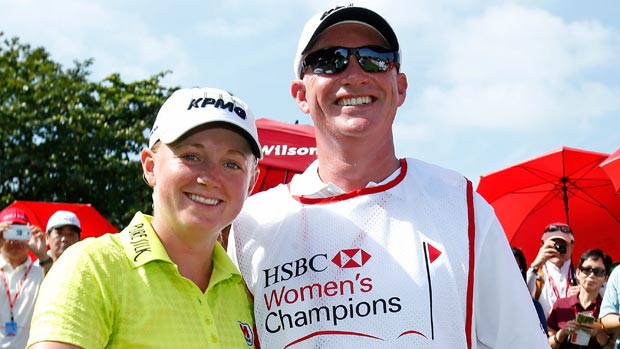 Stacy Lewis during the third round of the HSBC Women's Champions 2013