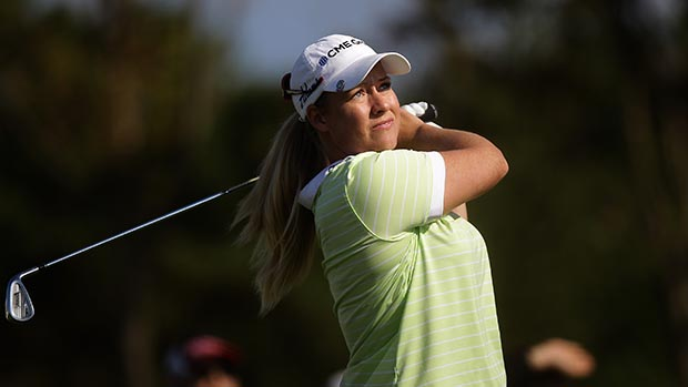 Brittany Lincicome during the final round of LPGA KEB • HanaBank Championship