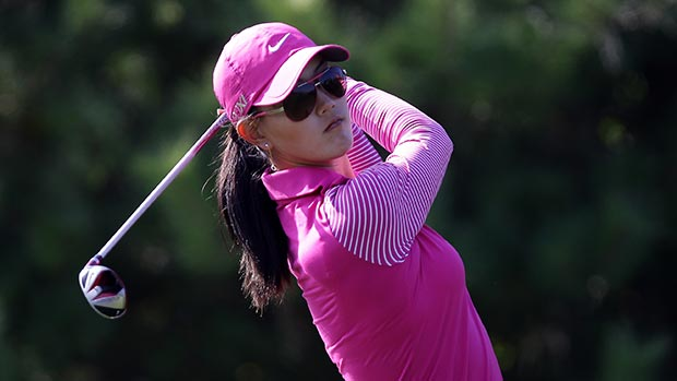 Michelle Wie during the final round of LPGA KEB • HanaBank Championship