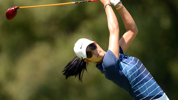 Michelle Wie during the third round of the Manulife Financial LPGA Classic