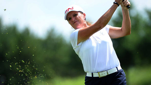 Lorie Kane during the final round of the Manulife Financial LPGA Classic