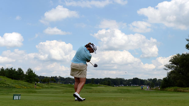 Angela Stanford during the final round of the Manulife Financial LPGA Classic