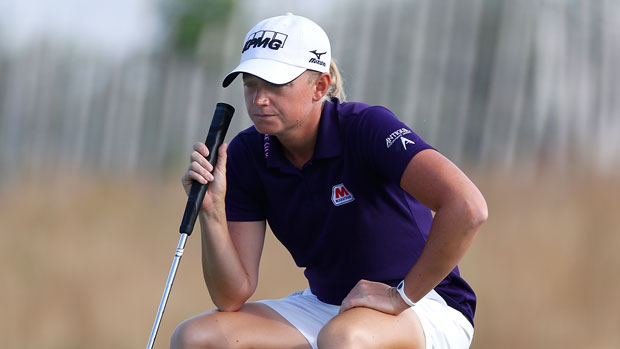 Stacy Lewis at the 2013 U.S. Women's Open