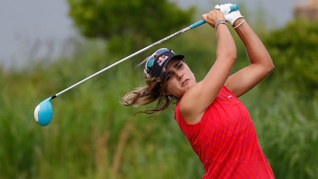 Lexi Thompson at the U.S. Women's Open