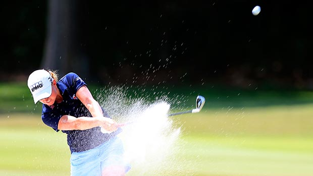 Stacy Lewis during the final round of the Walmart NW Arkansas Championship Presented by P&G
