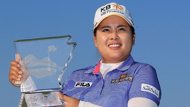 Inbee Park during the final round of the Walmart NW Arkansas Championship Presented by P&G