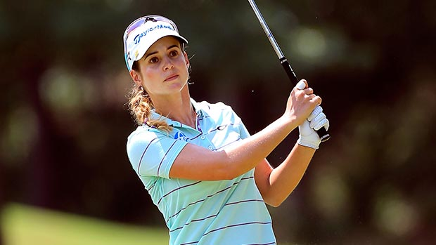 Beatriz Recari during the final round of the Walmart NW Arkansas Championship Presented by P&G
