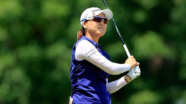 So Yeon Ryu during the first round of the Walmart NW Arkansas Championship Presented by P&G