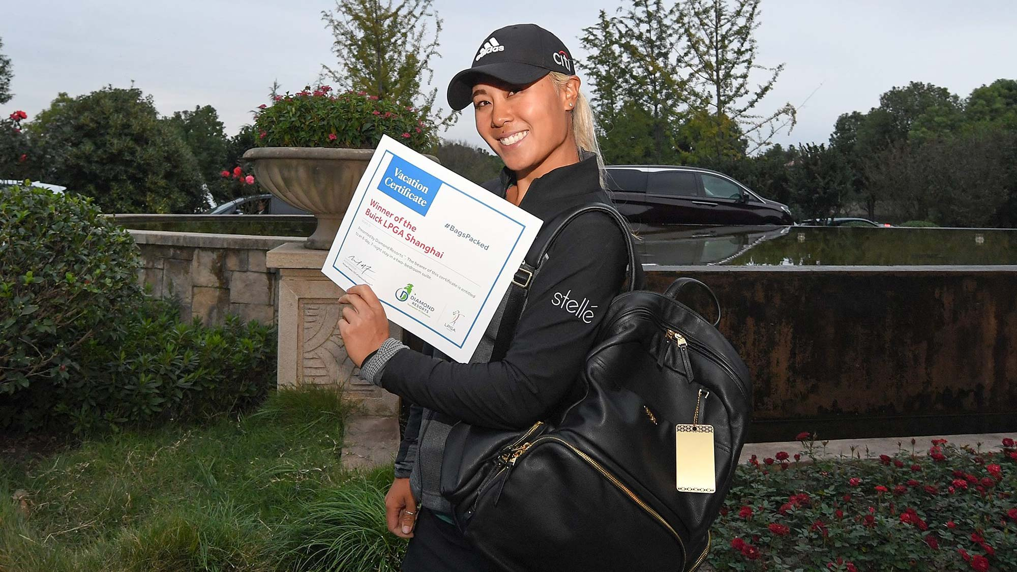 Danielle Kang has her #BagsPacked for the 2019 Diamond Resorts Tournament of Champions presented by IOA after her Victory at the Buick LPGA Shanghai