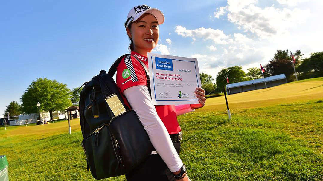 Minjee Lee has her #BagsPacked for the 2019 Diamond Resorts Tournament of Champions after her win at the 2018 LPGA Volvik Championship