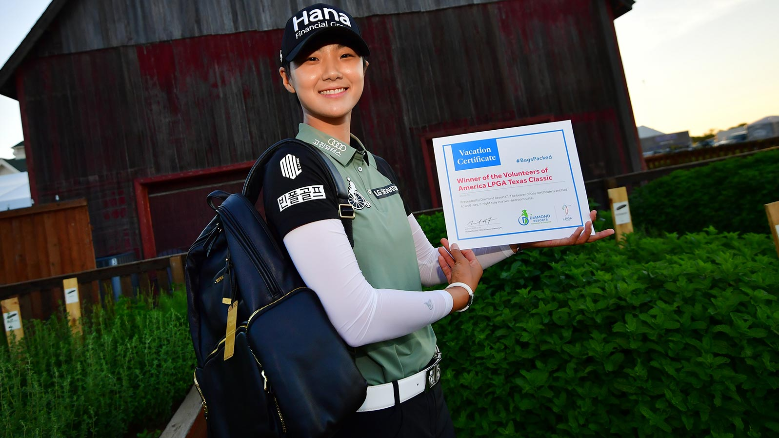 Sung Hyun Park has her #BagsPacked for the 2019 Diamond Resorts Tournament of Champions after her victory at the VOA Texas Classic