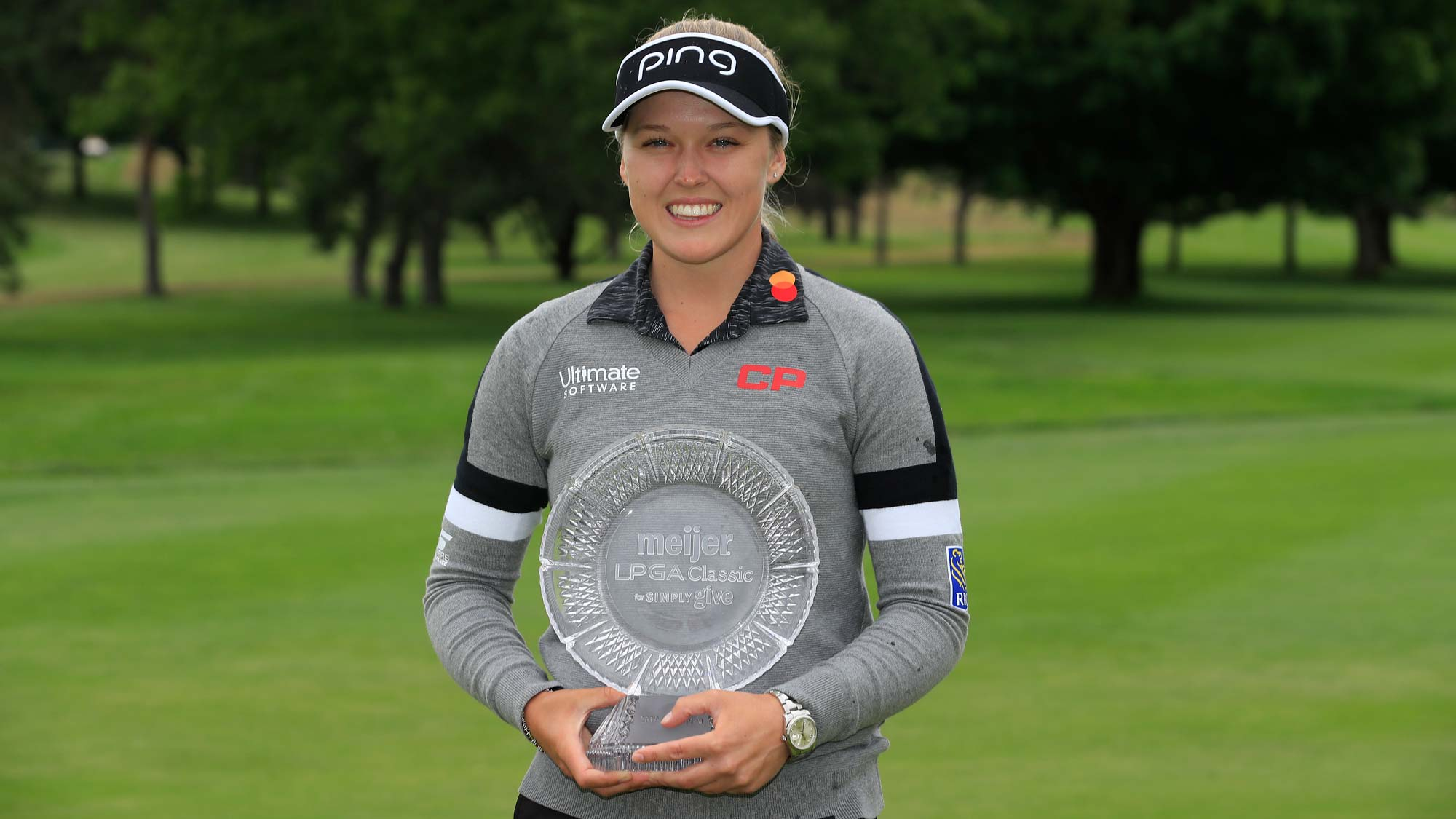Brooke Henderson has her #BagsPacked for the 2020 Diamond Resorts Tournament of Champions after her victory at the 2019 Meijer LPGA Classic for Simply Give