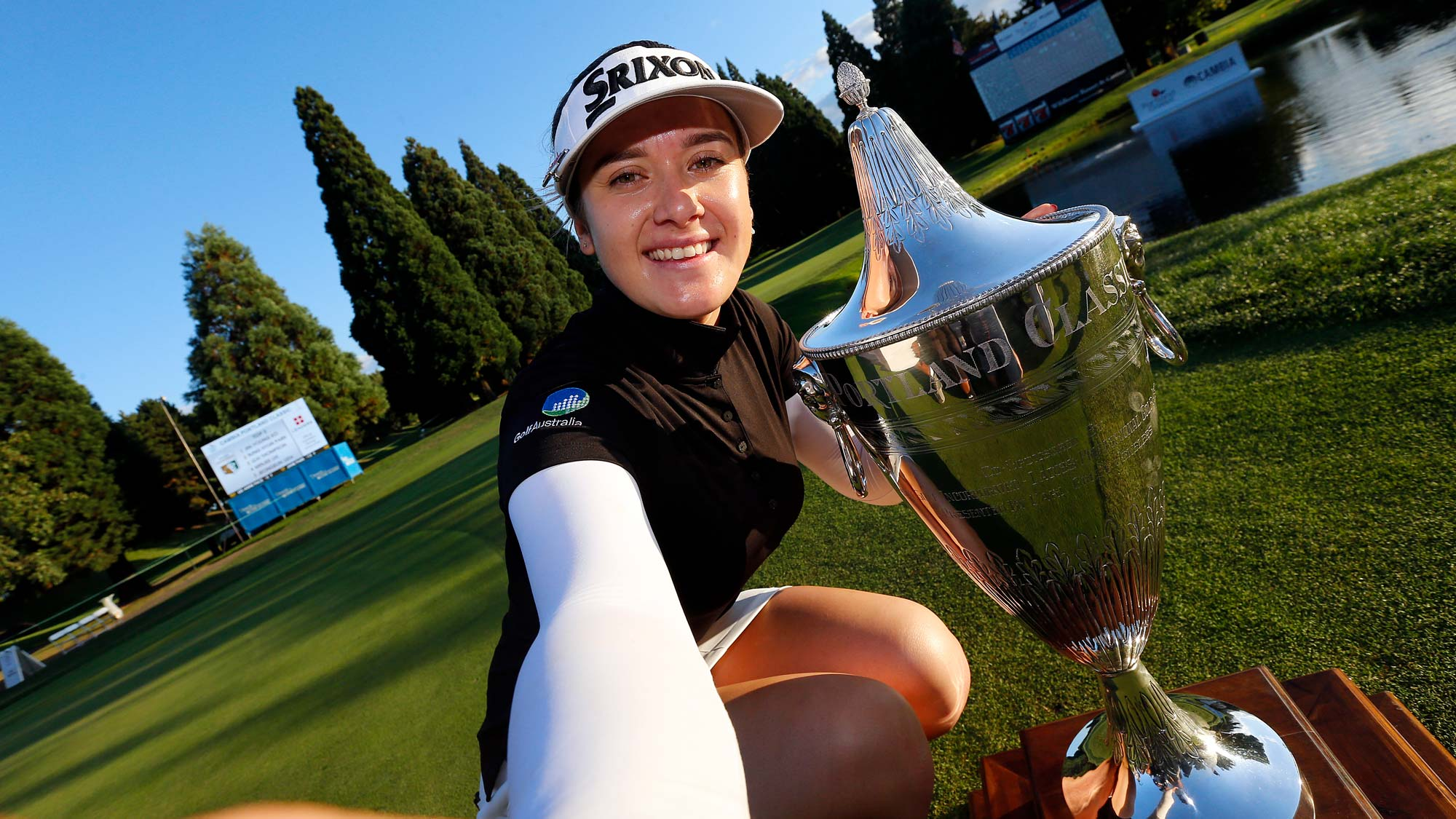 Hannah Green has her #BagsPacked for the 2020 Diamond Resorts Tournament of Champions after her victory at the 2019 Cambia Portland Classic