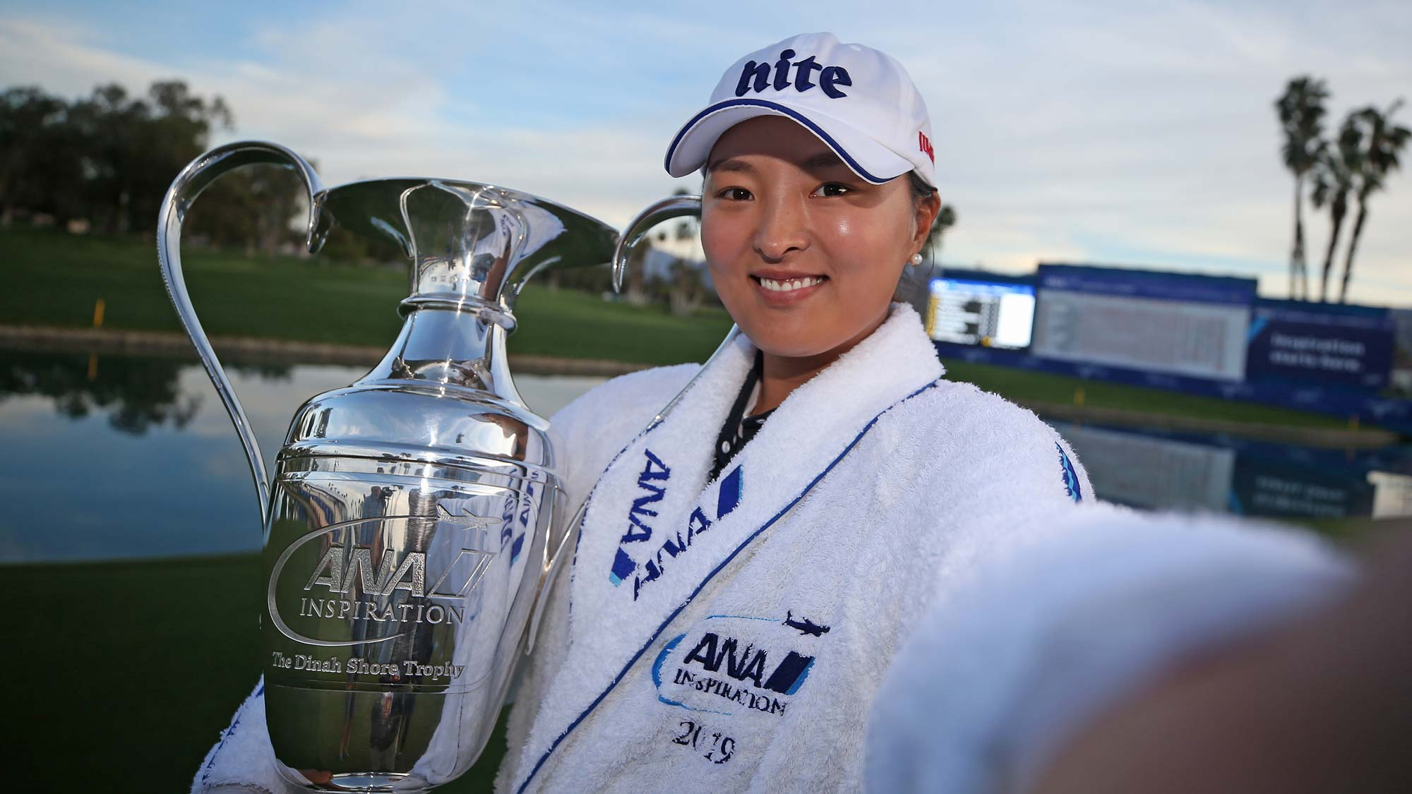 Jin Young Ko has her #BagsPacked for the 2020 Diamond Resorts Tournament of Champions after her victory at the 2019 ANA Inspiration
