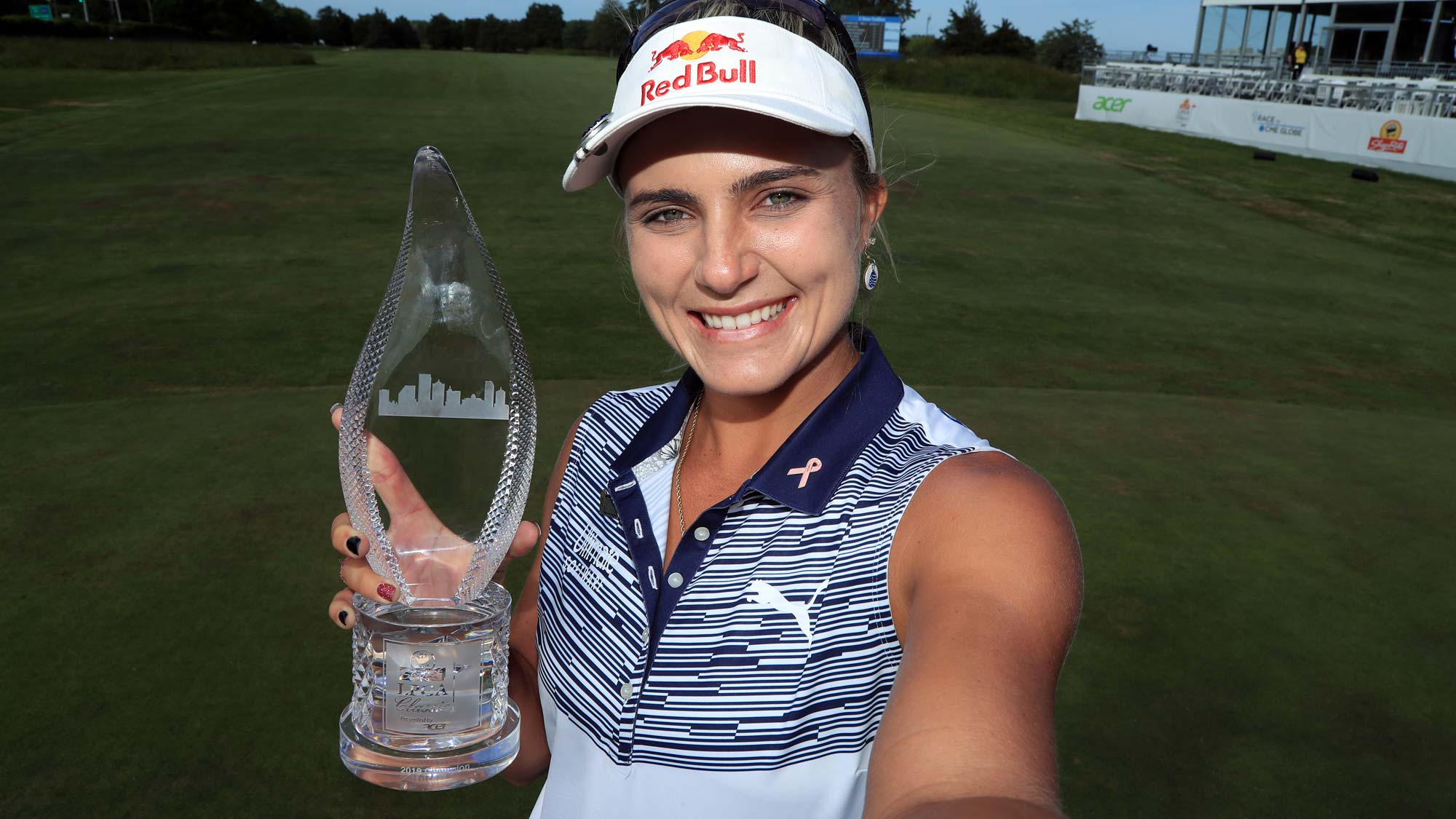 Lexi Thompson has her #BagsPacked for the 2020 Diamond Resorts Tournament of Champions after her victory at the 2019 ShopRite LPGA Classic presented by Acer