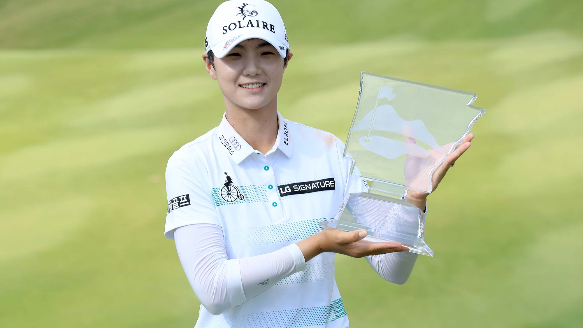 Sung Hyun Park has her #BagsPacked for the 2020 Diamond Resorts Tournament of Champions after her win at the Walmart NW Arkansas Championship