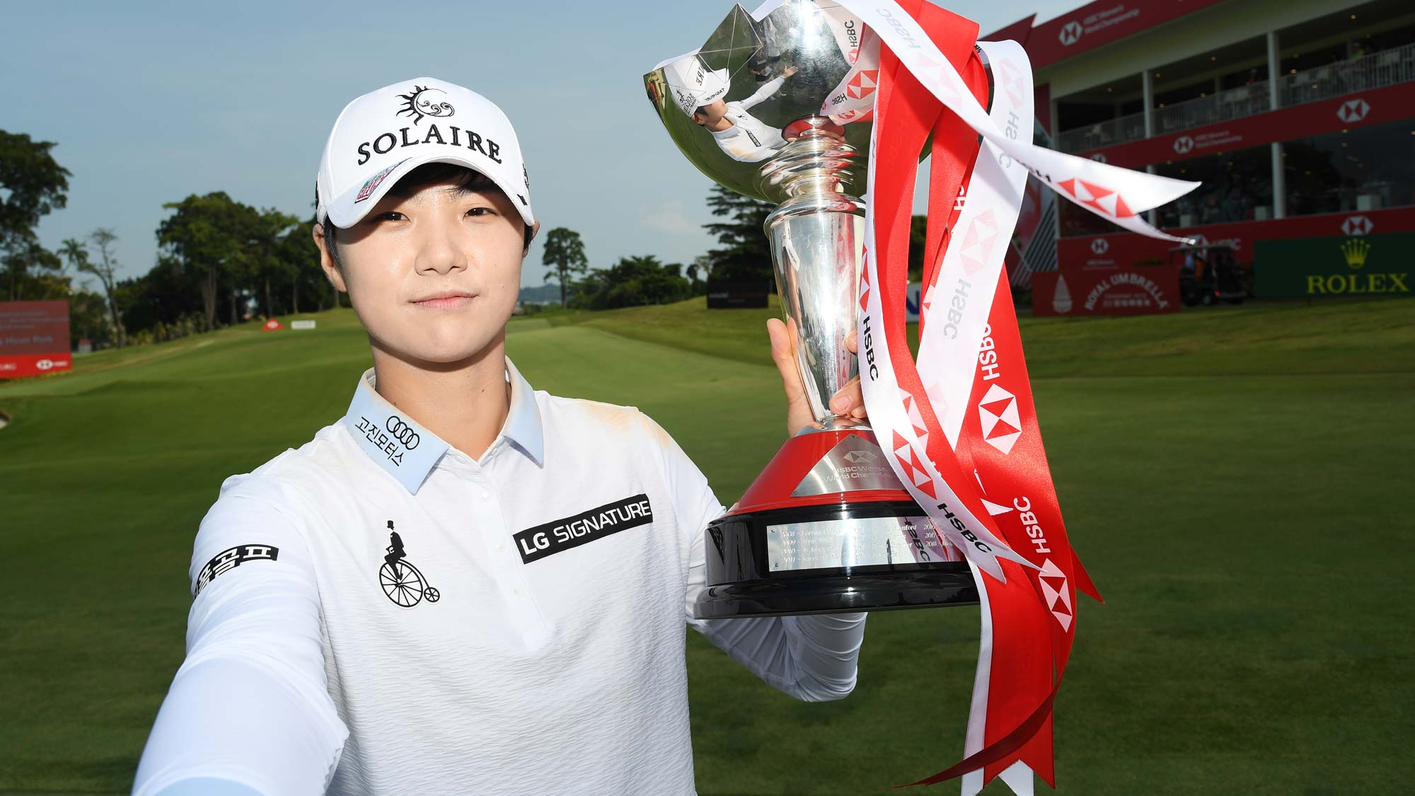 Sung Hyun Park has her #BagsPacked for the 2020 Diamond Resorts Tournament of Champions after her victory at the 2019 HSBC Women's World Championship
