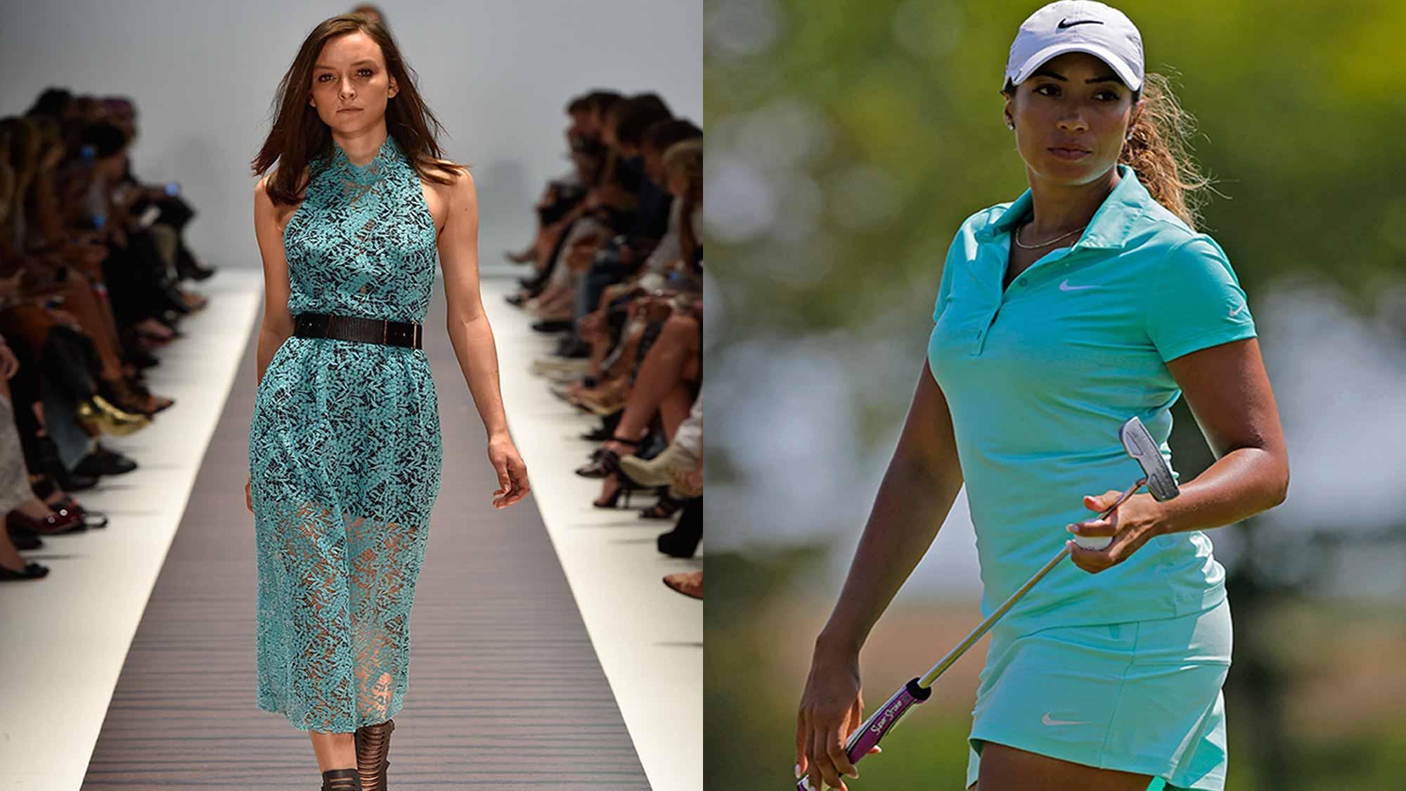 Fairways and fashion trending on tour lpga ladies professional