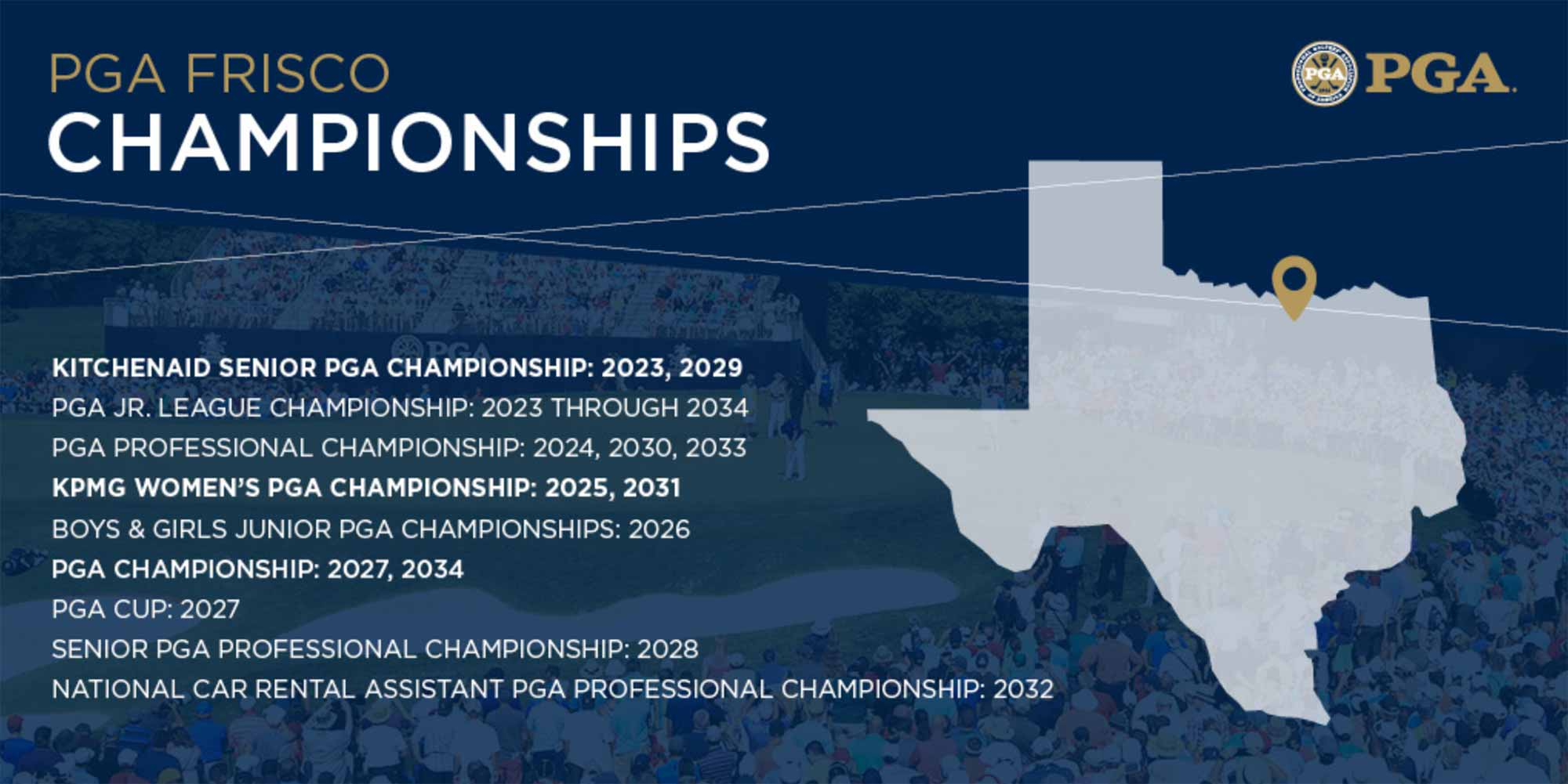 Texas to host 2027 and 2034 US PGA Championships
