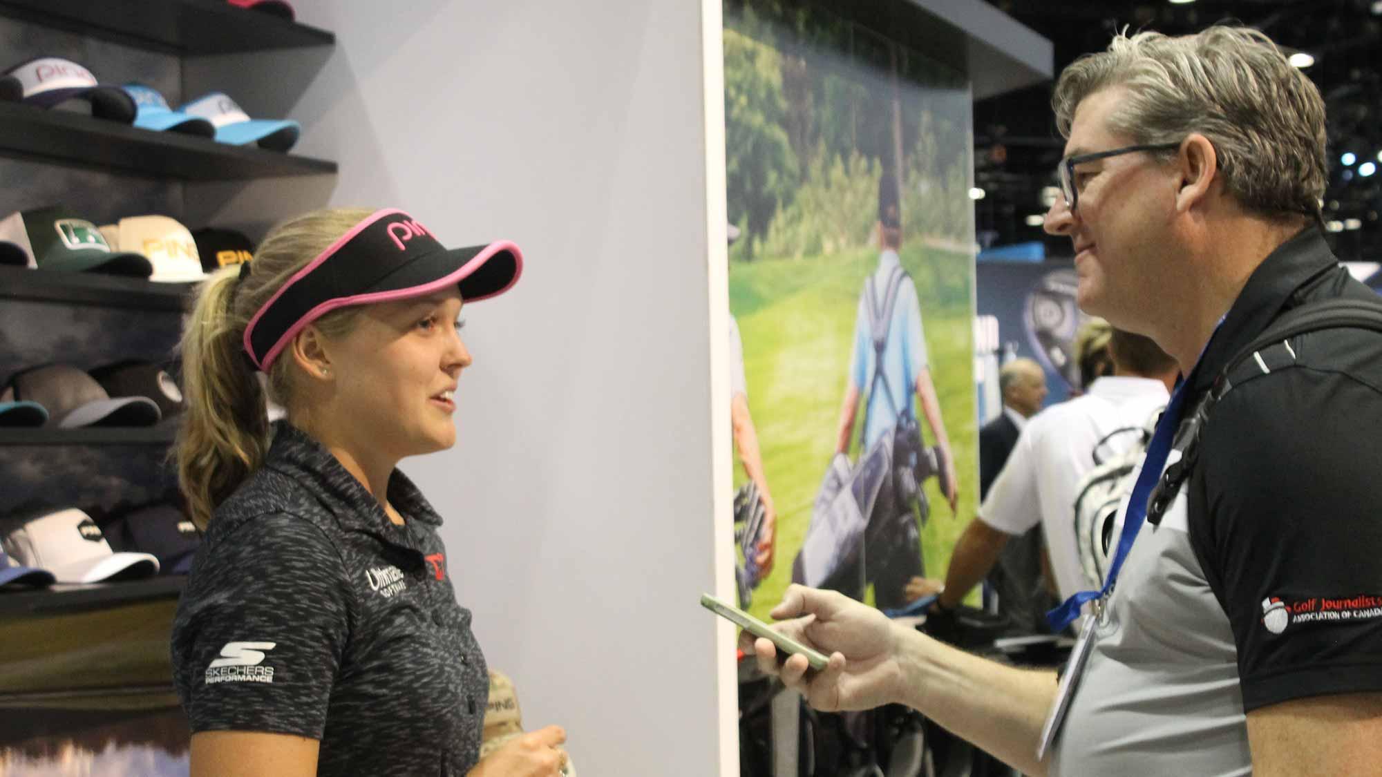 1ec5a1f857c694 Henderson Talks New Gear and New Goals at PGA Merchandise Show ...