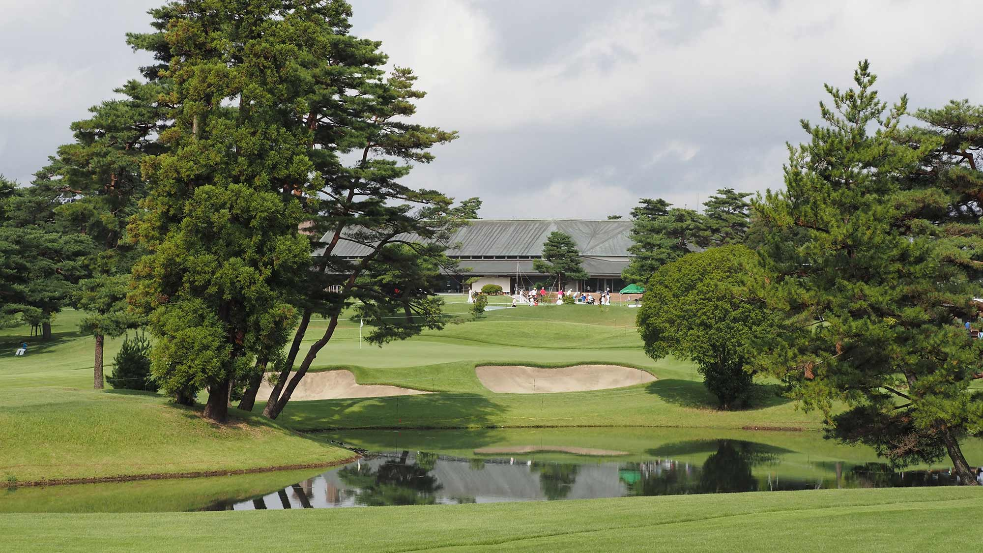A view of Kasumigaseki Country Club, the host site of the men and women's golf competition for the 2020 Olympic Games in Tokyo, Japan