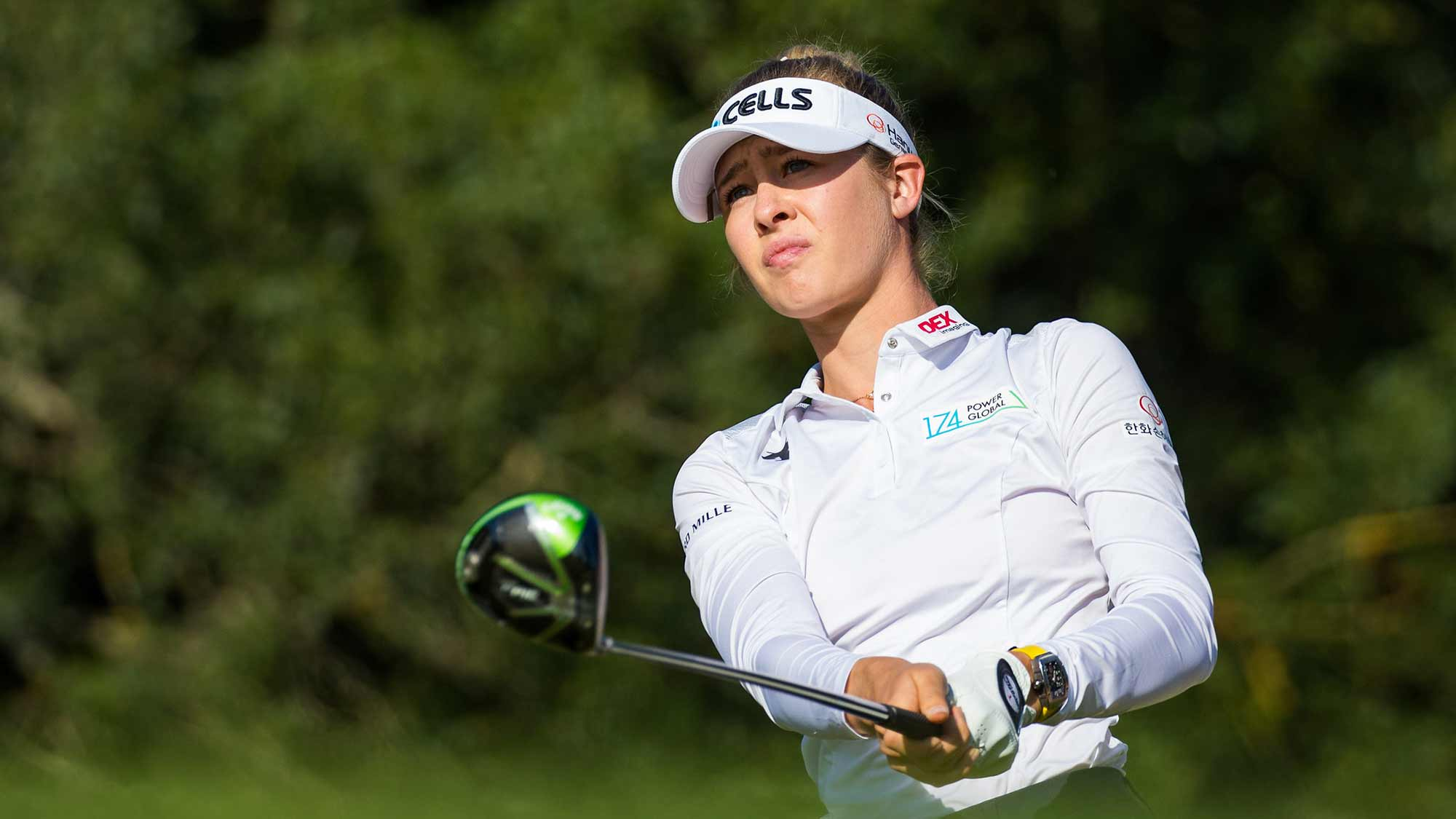 Lacoste Ladies Open de France, Golf Du Medoc, France. 19-22 September 2019. Nelly Korda of the USA during the second round.