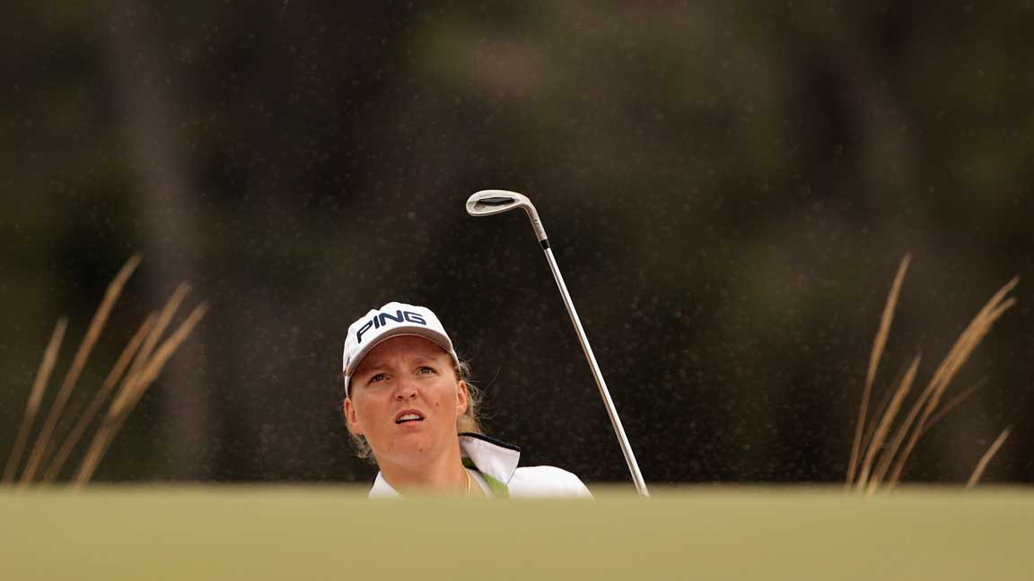 Perrine Delacours Australian Finish Is One Step On The Long Road Back | LPGA | Ladies Professional Golf Association
