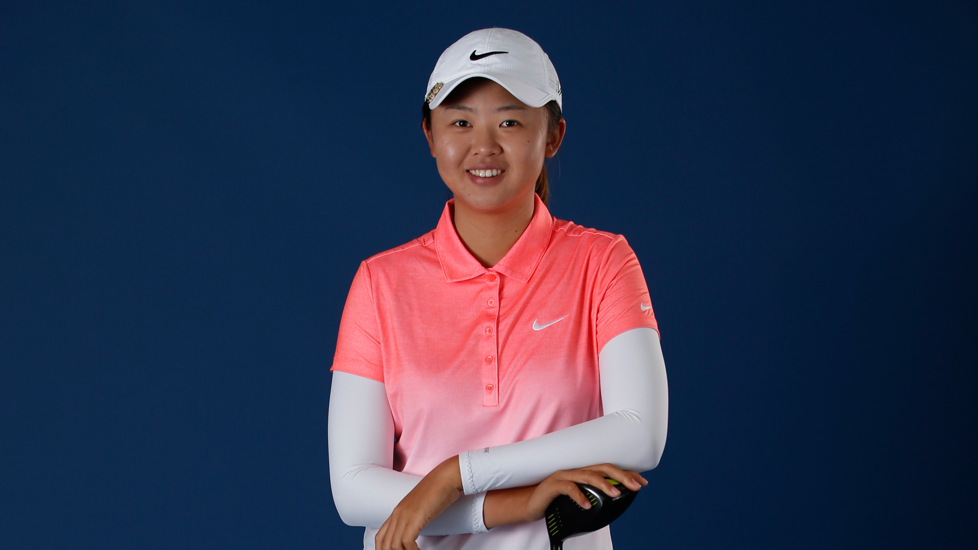 What phrase..., female amateur golfer china with you