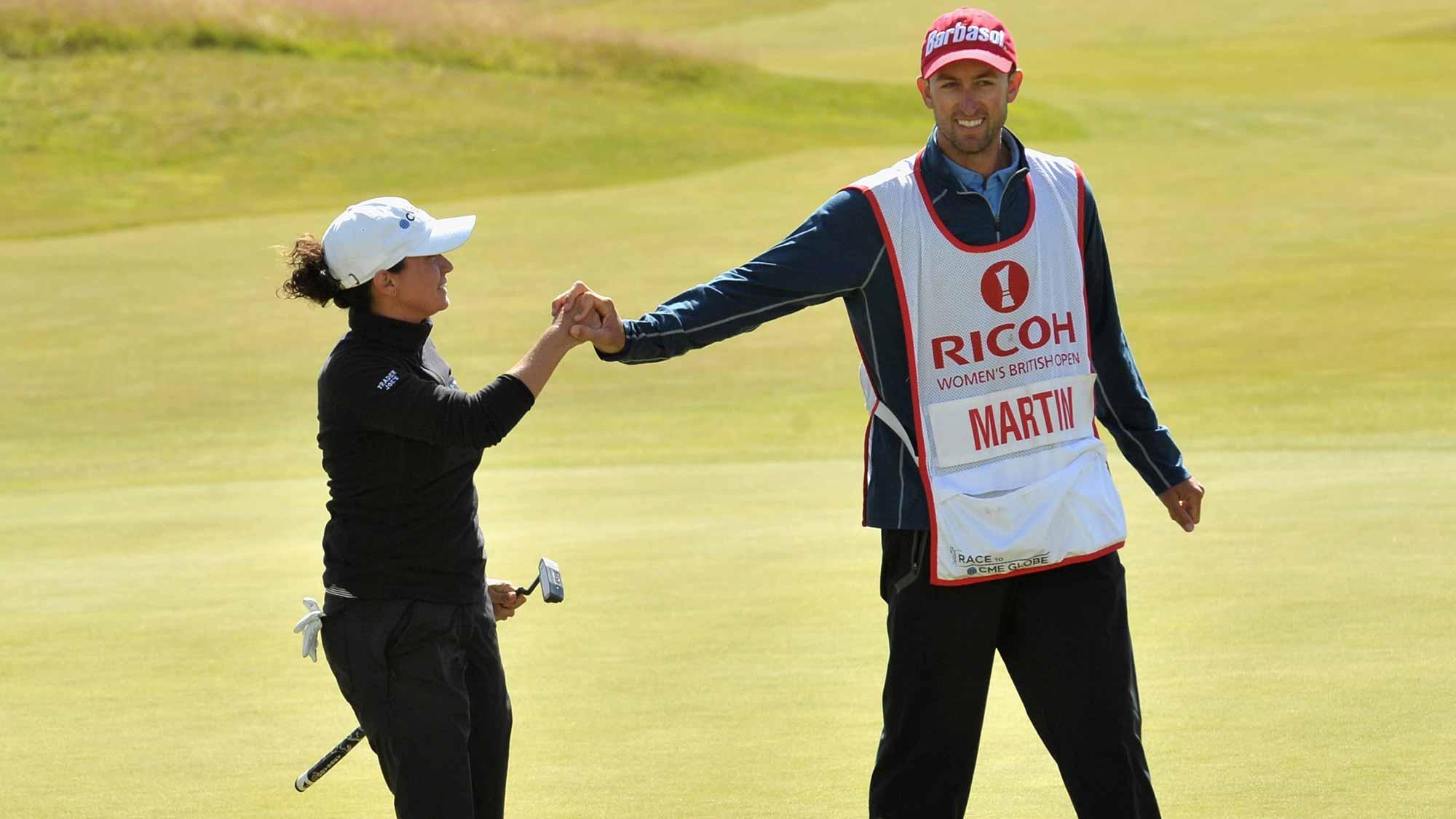 Michelle Wie withdraws mid-round from Women's British Open with wrist injury