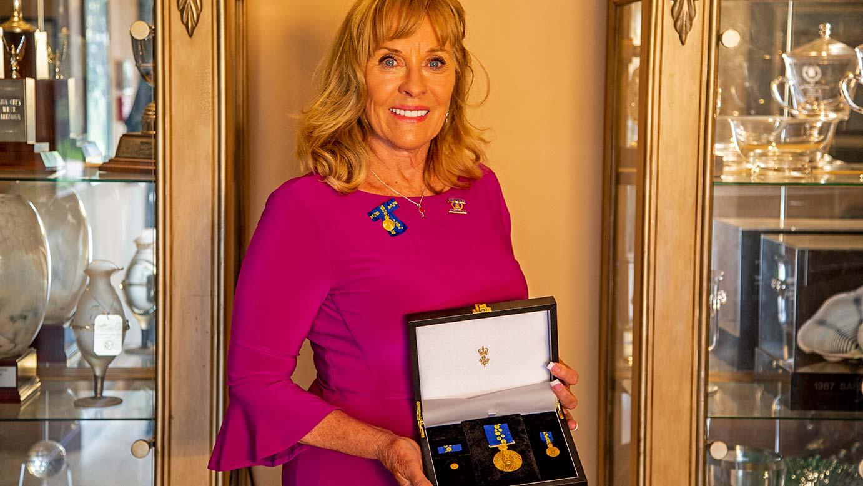 2018 jan stephenson honored with order of australia medal