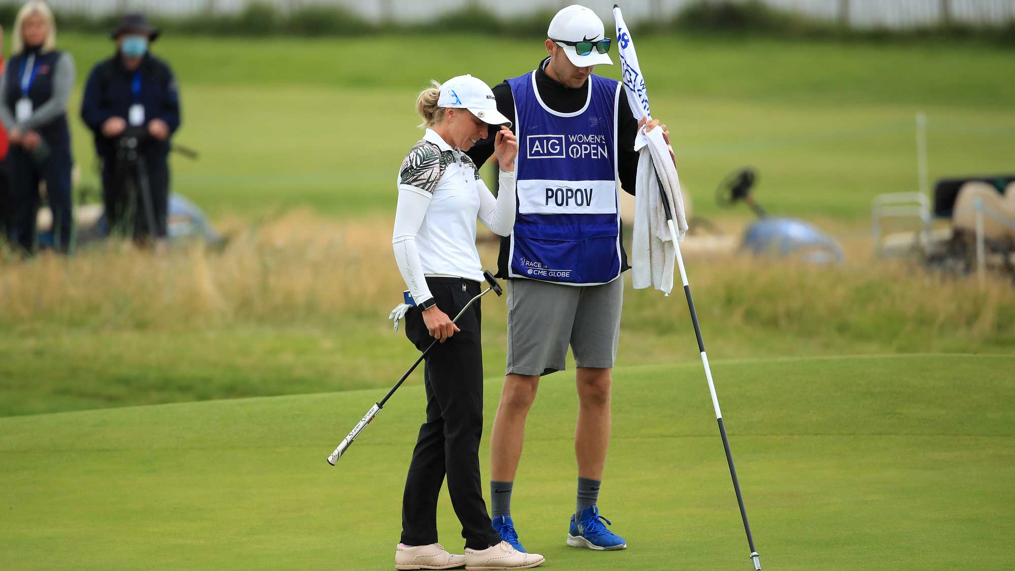 Popov Reveals Battle | LPGA | Ladies Professional Golf Association