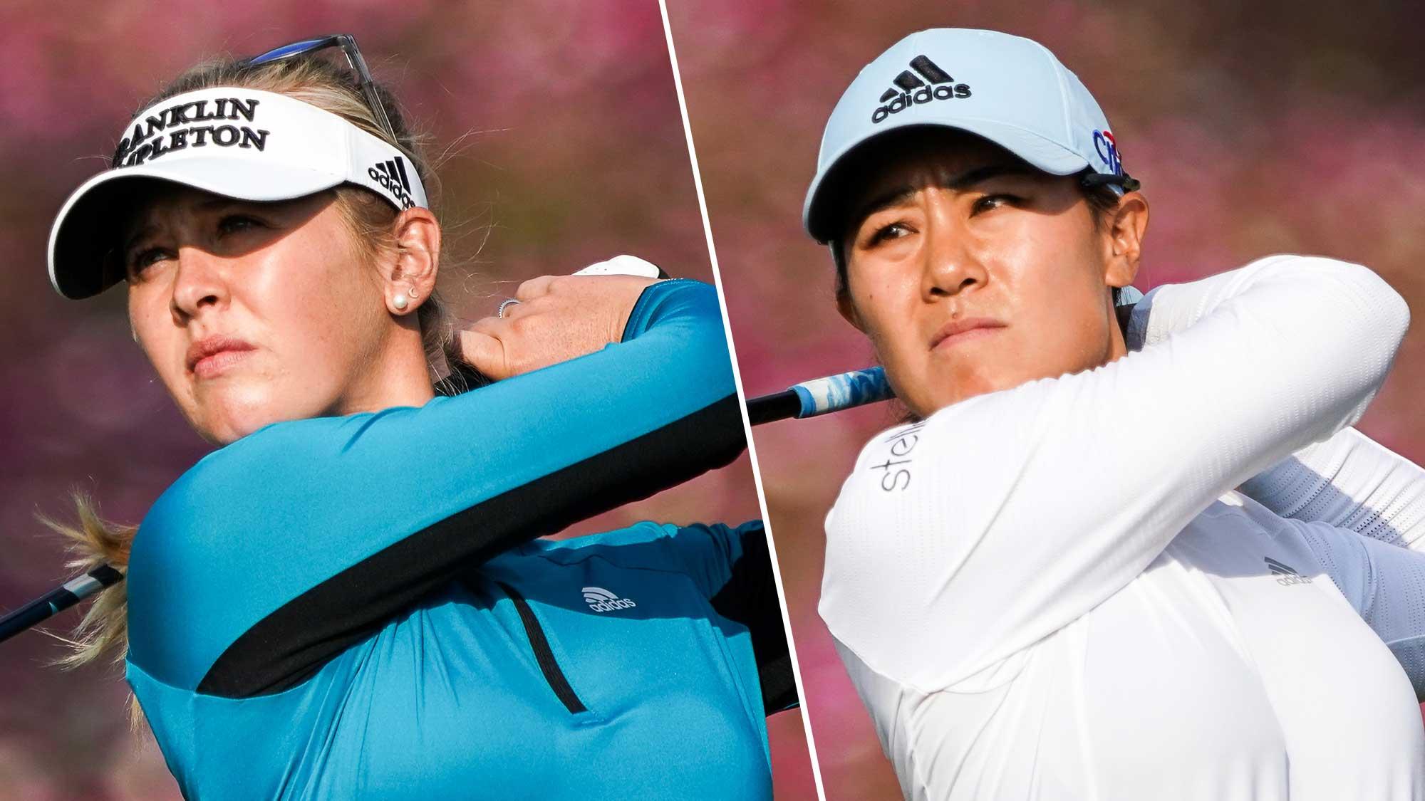 2019 Korda Kang Pull Clear in Round Three Shanghai   LPGA   Ladies Professional Golf Association