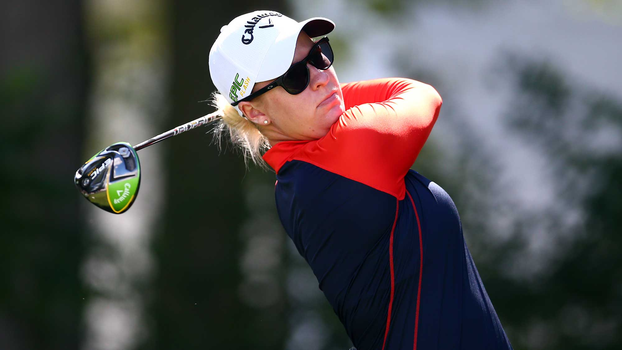 Broch Larsen Surges Into Lead at CP Women's Open, Henderson Trails By Three | LPGA | Ladies Professional Golf Association